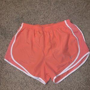 Pastel Orange Nike Shorts
